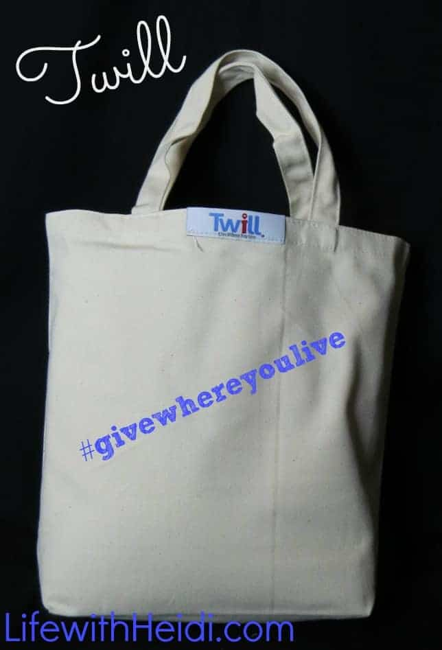 My Twill #givewhereyoulive is perfect for all gift giving