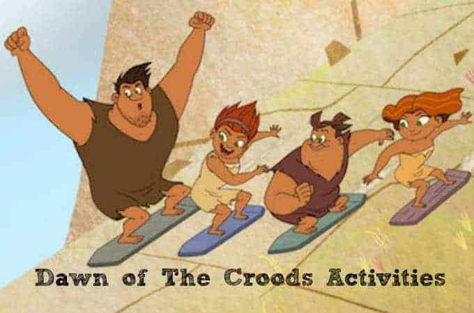 Dawn of The Croods Activities To Download