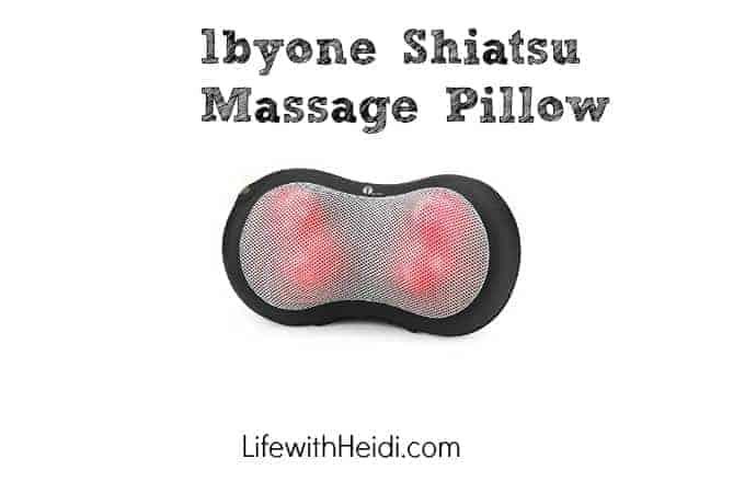 1byone Shiatsu Massage Pillow