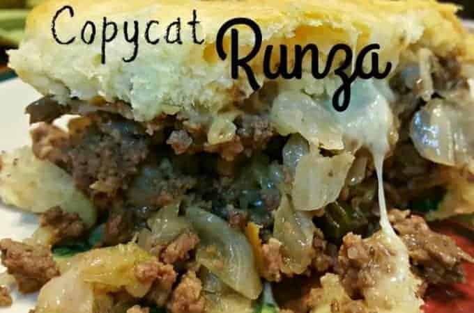 Copycat Runza Casserole
