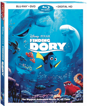 Finding Dory Coming To Blu Ray 11/15