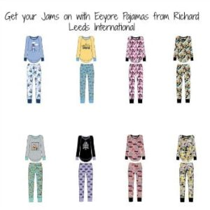 Get your Jams on with Eeyore Pajamas from Richard Leeds International