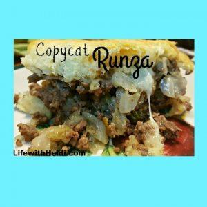 Copycat Runza