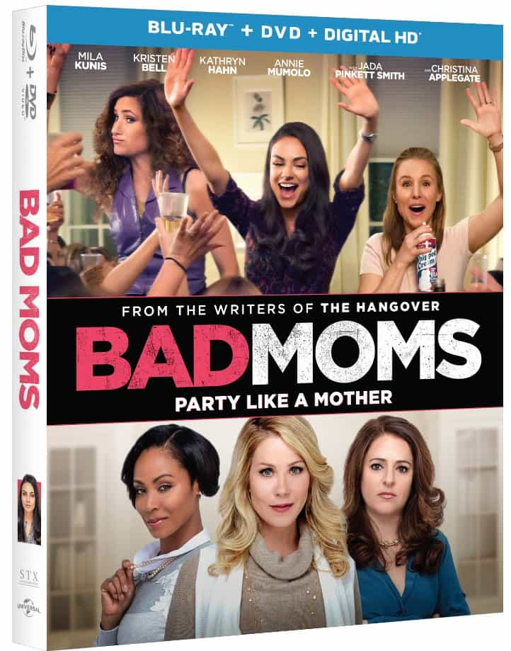 Bad Moms coming to DVD