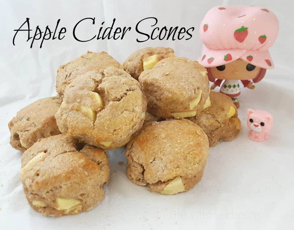Apple Cider Scones