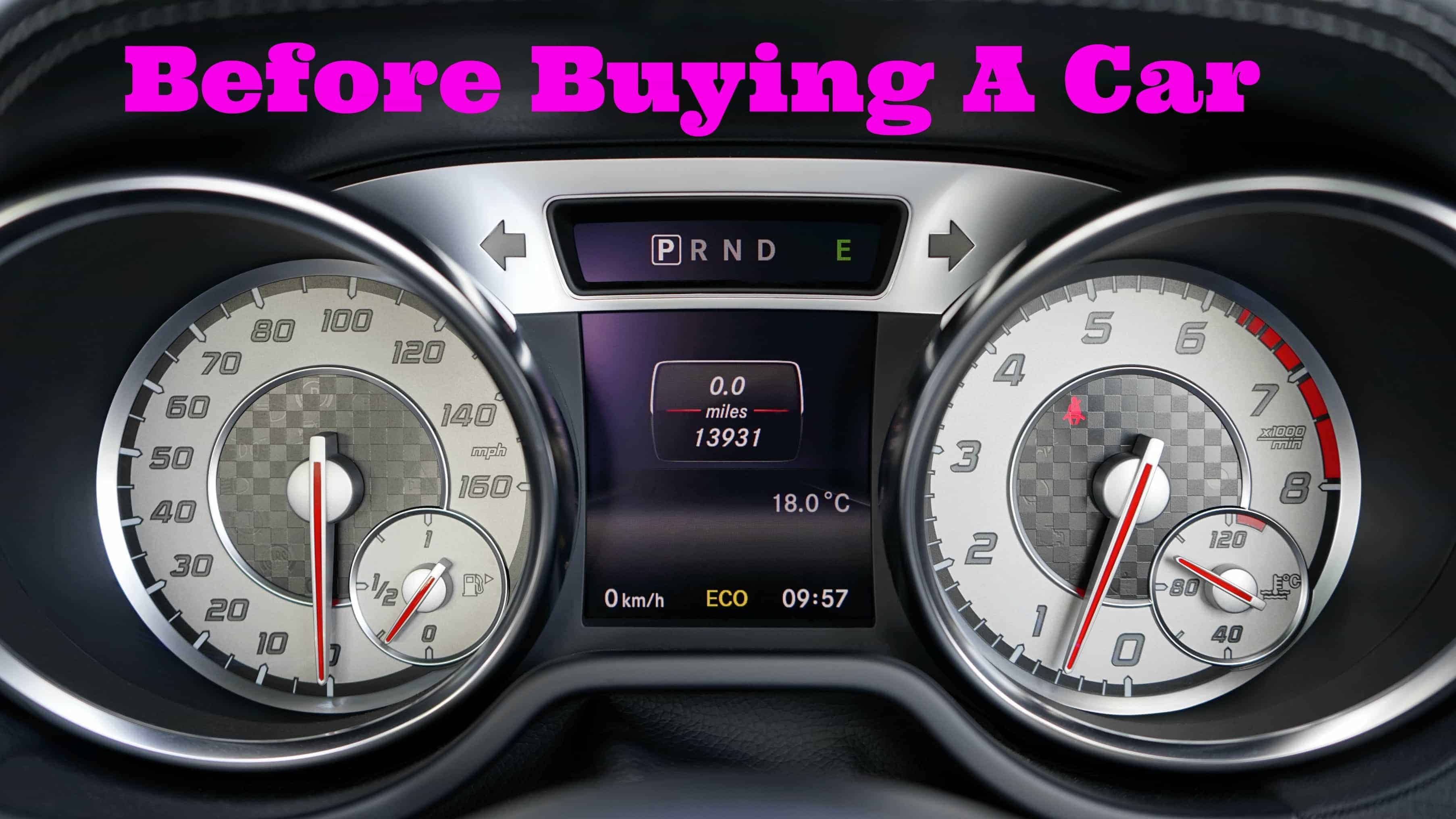 Reddit Things To Know Before Buying A Car