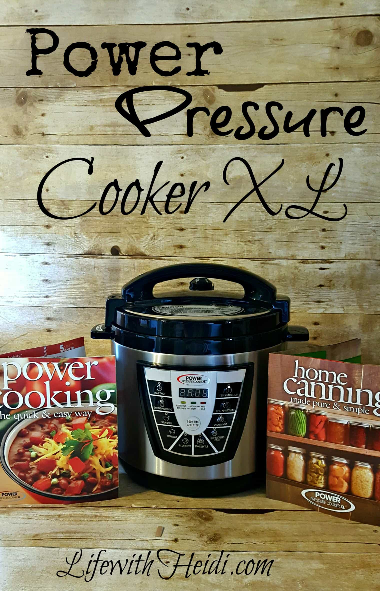 Power Pressure Cooker Xl Life With Heidi
