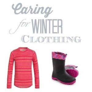 Caring for Winter Clothing
