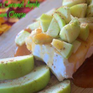 Cinnamon Caramel Apple Cream Cheese
