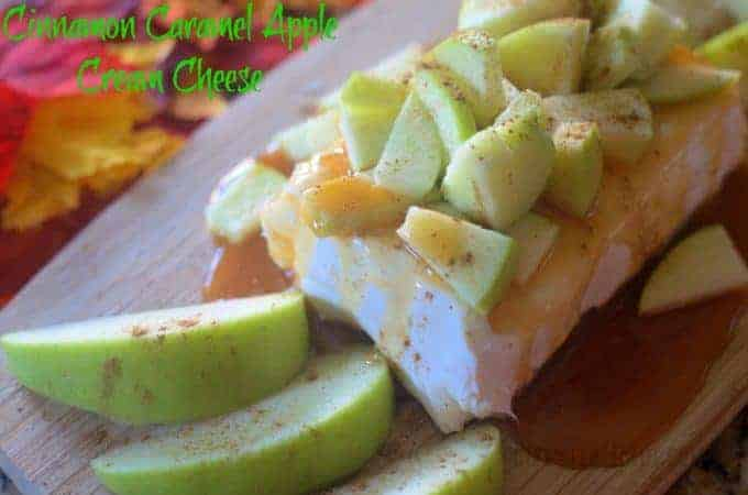 Cinnamon Caramel Apple Cream Cheese
