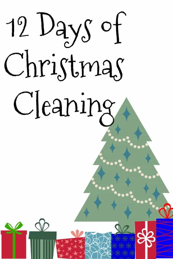 Get your home ready for the #holidays with this  #12DaysofChristmasCleaning printable #Christmastime #Christmas https://www.lifewithheidi.com/12-days-of-christmas-cleaning/