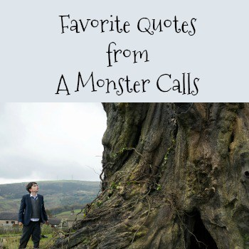Favorite Quotes from A Monster Calls