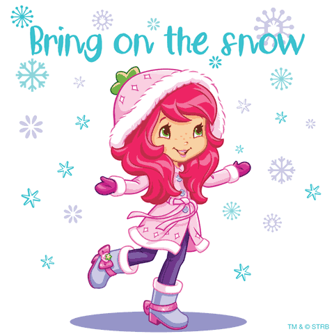 Happy Holidays From Strawberry Shortcake