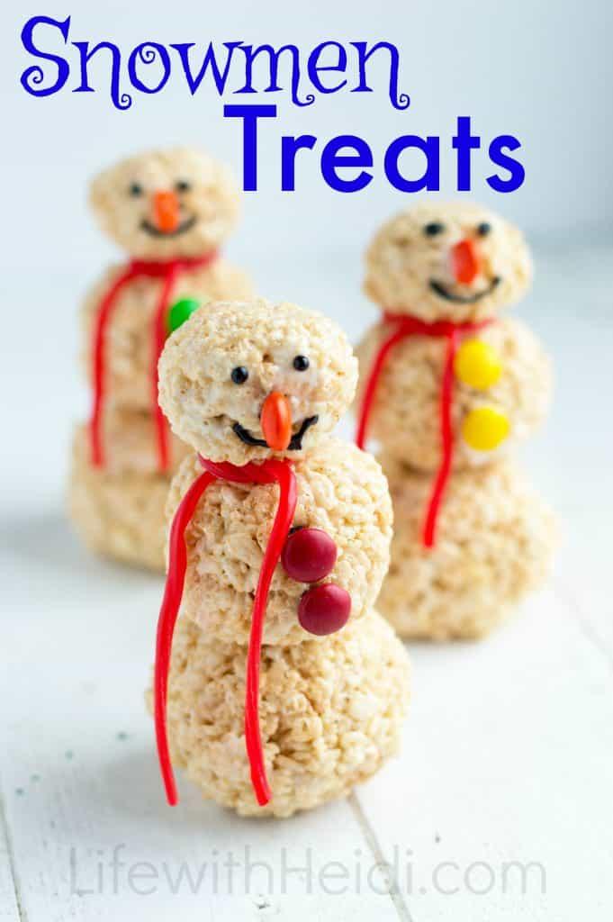 Snowmen Treats