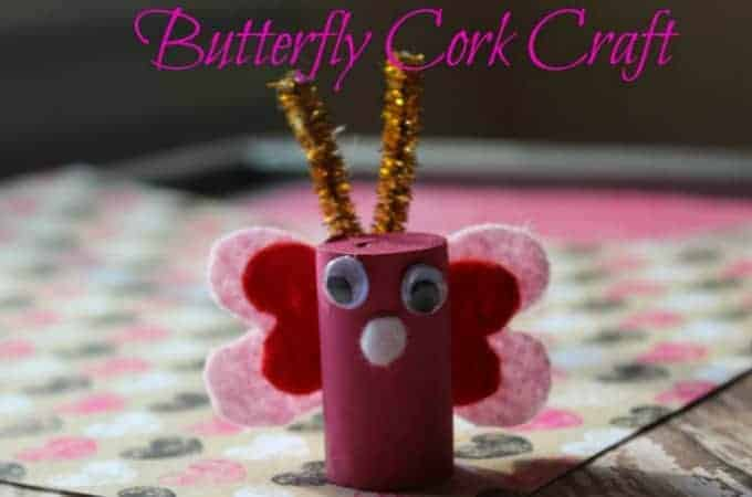Butterfly Cork Craft