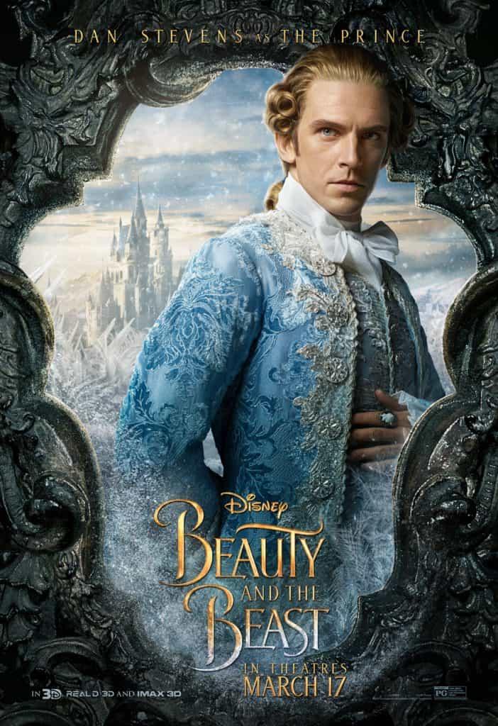 Dan Stevens as the Prince