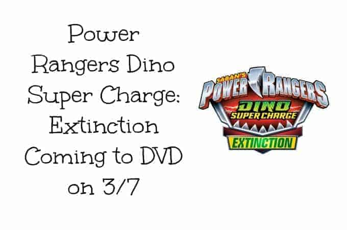 Power Rangers Dino Super Charge: Extinction