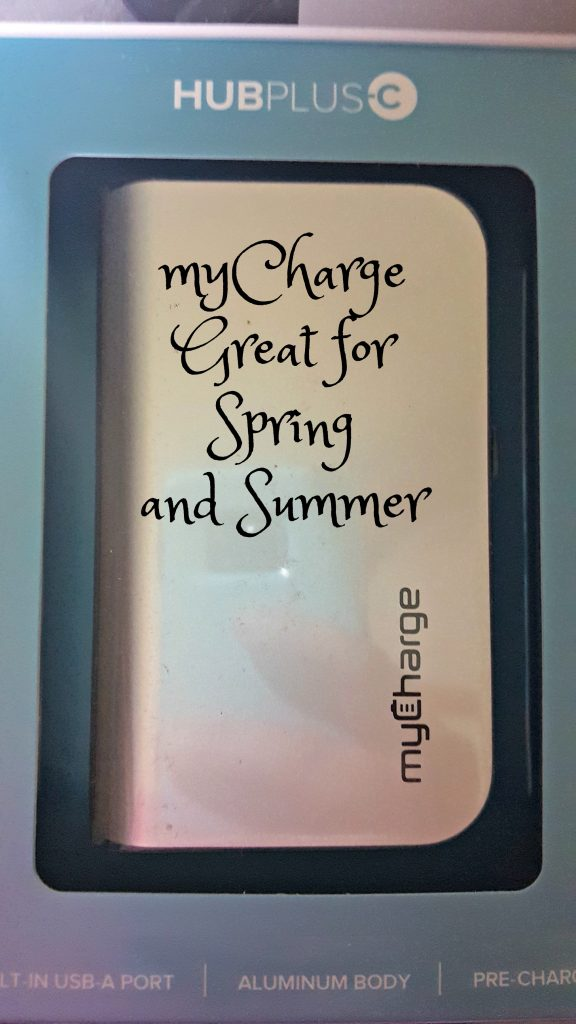 myCharge Great for Spring and Summer
