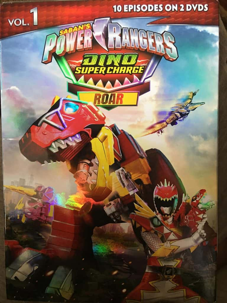 - Power Rangers Dino Super Charge Roar Vol. 1 Life With Heidi