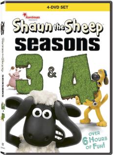 Sean The Sheep Seasons 3-4