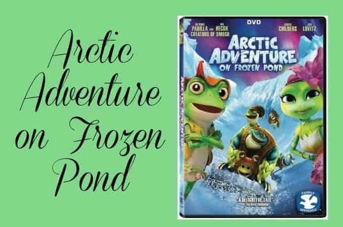 Arctic Adventure on Frozen pond