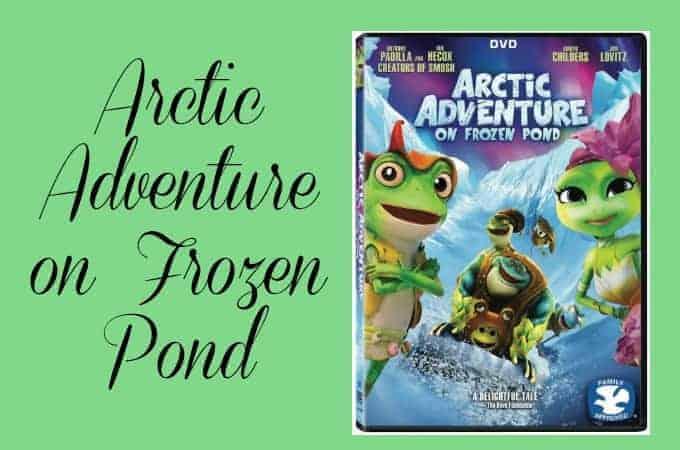 Arctic Adventure on Frozen Pond