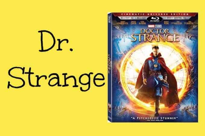 Doctor Strange Coming to DVD 2/28 + Bonus Features