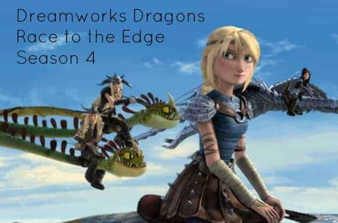 Dreamworks Dragons Race to the Edge Season 4