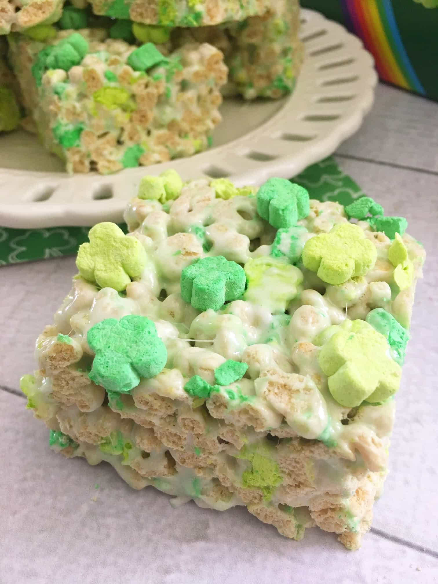 Clover Bars are Perfect for St. Patrick's Day