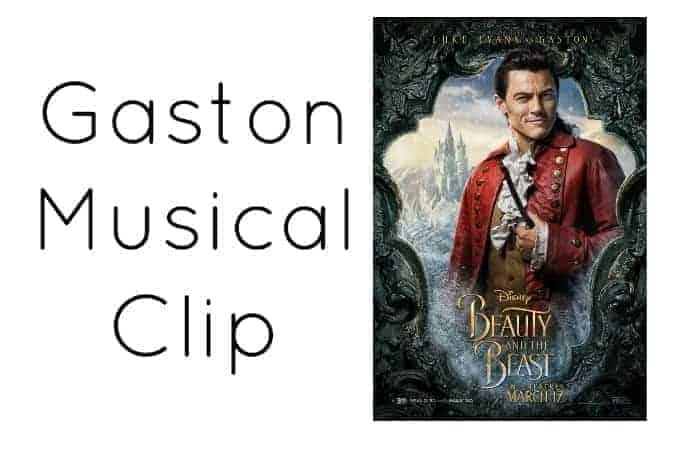 Gaston Musical Clip