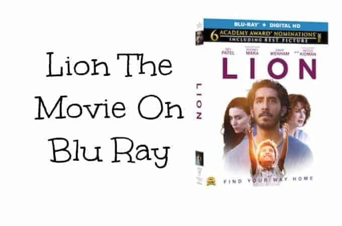Lion The Movie On Blu Ray March 21st