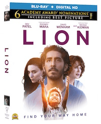 Lion The Movie On Blu Ray