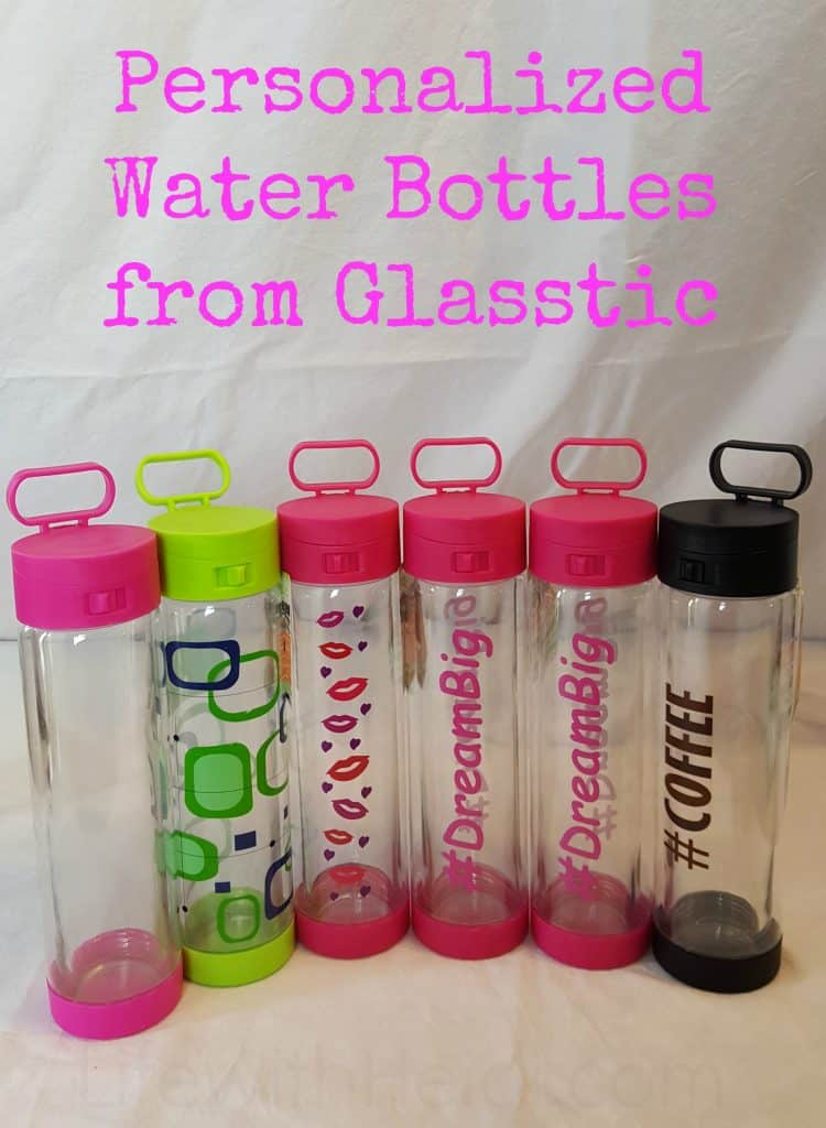 Personalized Water Bottles from Glasstic