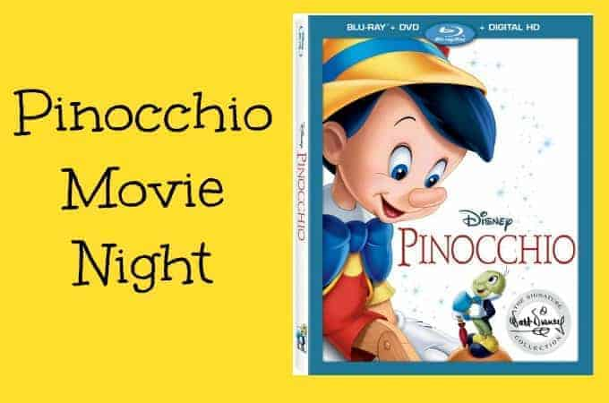 Pinocchio Movie Night