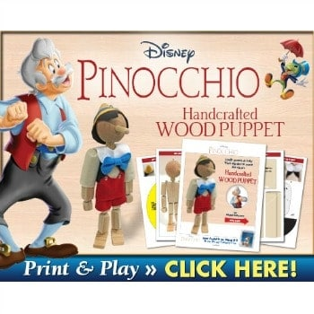 Pinocchio Craft Ideas