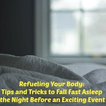 Refueling Your Body: Tips and Tricks to Fall Fast Asleep
