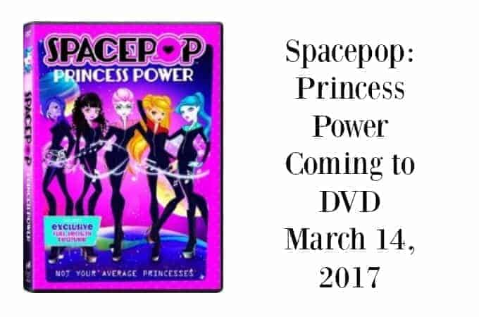 Spacepop: Princess Power coming to DVD March 14