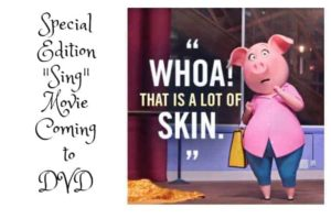 """Special Edition """"Sing"""" Movie Coming to DVD"""