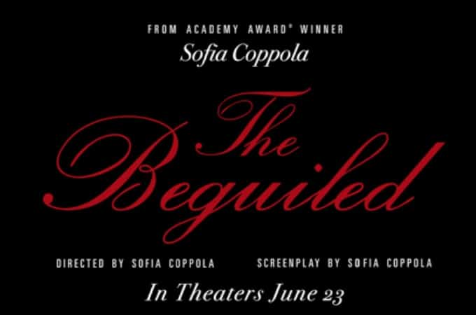 The Beguiled will be in theaters June 23, 2017