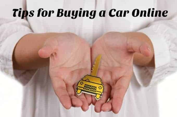 Tips for buying a car online