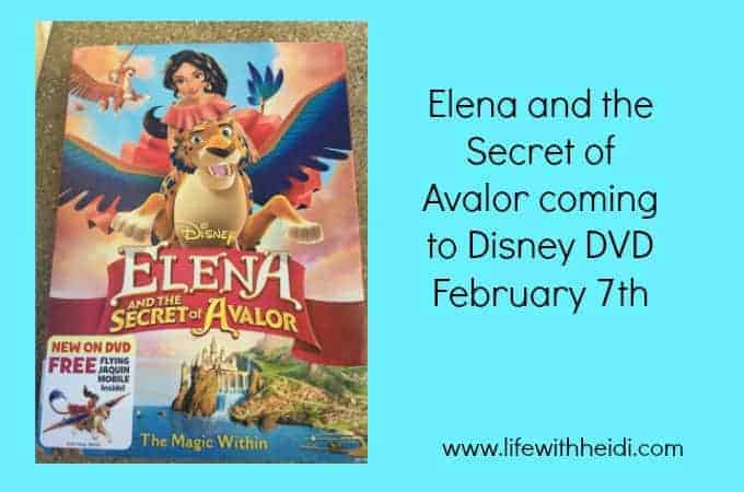 Elena and the Secret of Avalor coming to Disney DVD February 7th