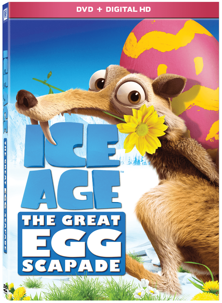 ICE AGE: THE GREAT EGG-SCAPADE - Arriving on DVD March 7th!