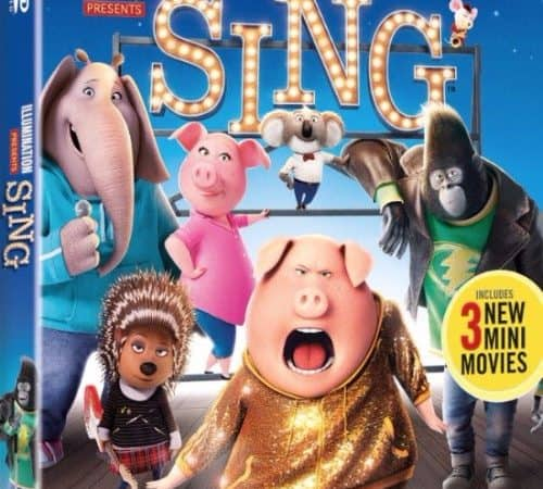 "Special Edition ""Sing"" Movie Coming to DVD"