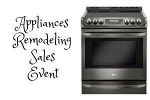 Appliances Remodeling Sales Event2