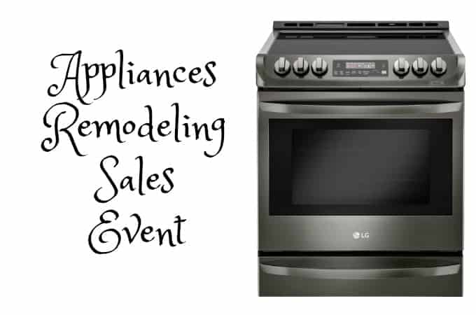 Appliances Remodeling Sales Event