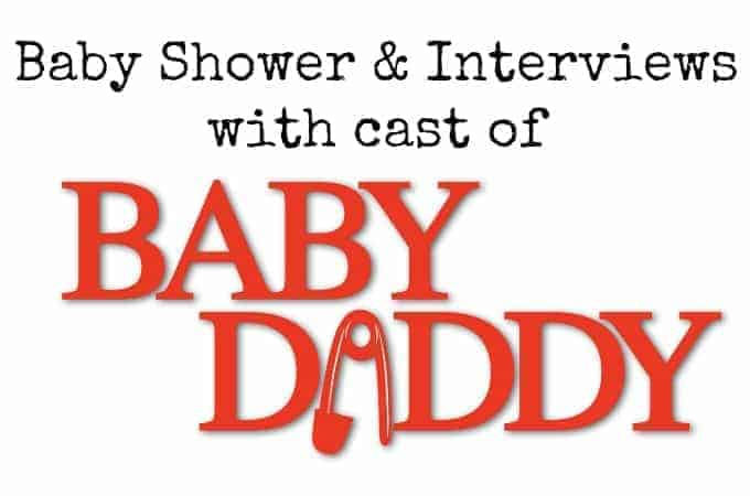 Baby Shower and Interviews with the Cast of Baby Daddy