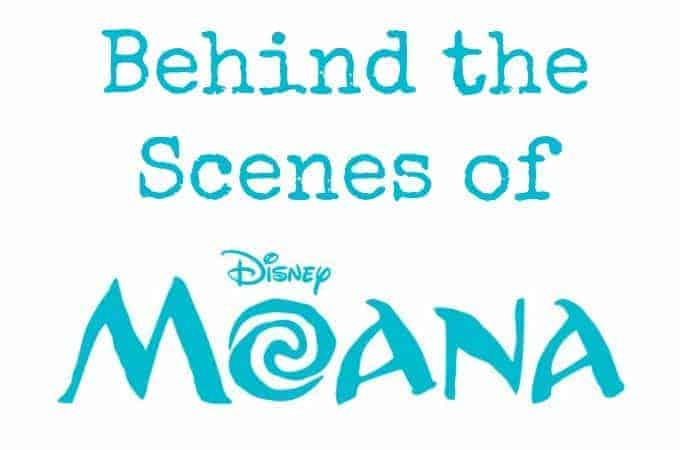 Behind the Scenes of Moana