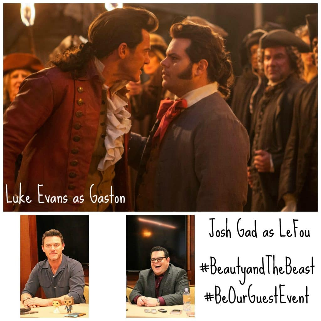 Josh Gad and Luke Evans