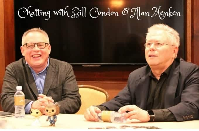 Chatting with Bill Condon & Alan Menken