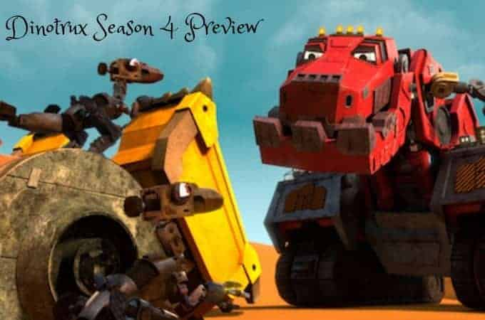 Dinotrux Season 4 Preview
